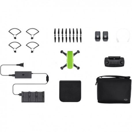 Drona-DJI Spark - Fly More Combo - Meadow Green
